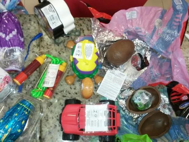 Brindes de ovos de páscoa são fiscalizados no MA (Foto: Divulgação/INMEQ-MA)