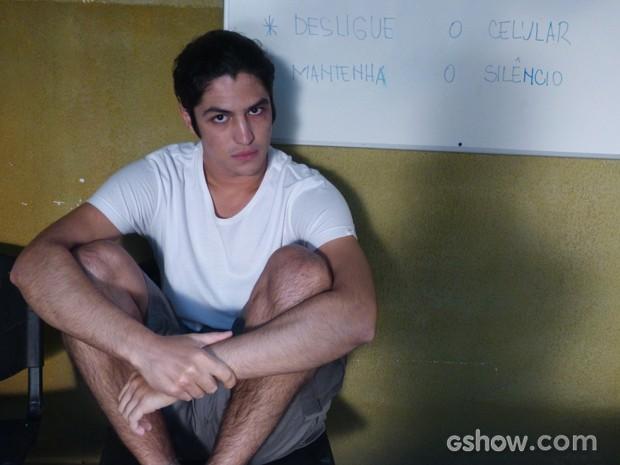 Antônio apresenta melhora no comportamento (Foto: Malhação / TV Globo)