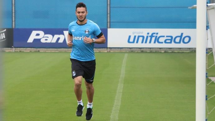 William Schuster reforço do Grêmio (Foto: Eduardo Moura/GloboEsporte.com)