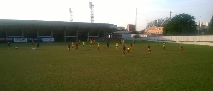 Ituano, treino, Copa Paulista  (Foto: Guilherme Giavoni)