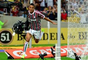 Cícero fluminense gol Gioás brasileirão (Foto: Marcelo Moreira / Agência Estado)
