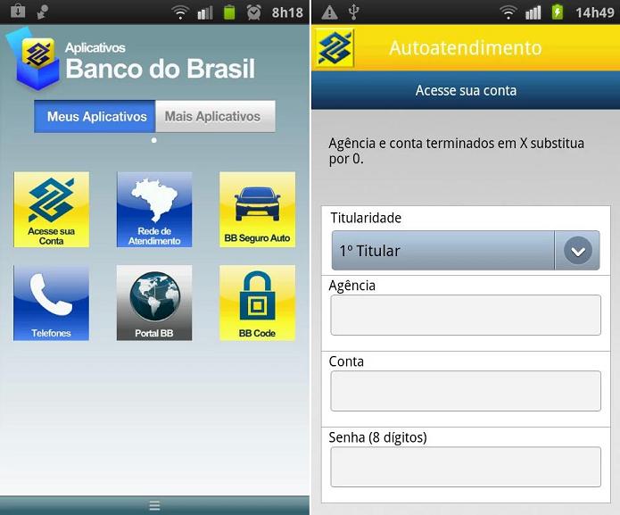 App do BB teve problemas na última segunda (Foto: Divulgação) (Foto: App do BB teve problemas na última segunda (Foto: Divulgação))