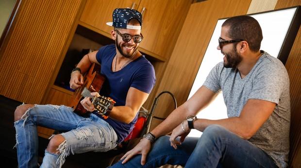 Pipo e Rafa Marques (Foto: J L Rosa)