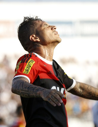 Guerrero Ponte Preta x Flamengo (Foto: Ag. Estado)