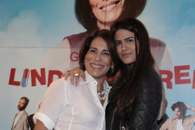 Glória Pires e Antonia Morais (Foto: Isac Luz / EGO)