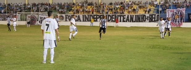 Botafogo-PB 1 x 0 Treze, no Estádio da Graça (Copa Paraíba) (Foto: Larissa Keren / Globoesporte.com/pb)