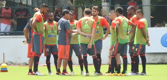 Treino Flamengo Gávea (Foto: Fred Gomes)