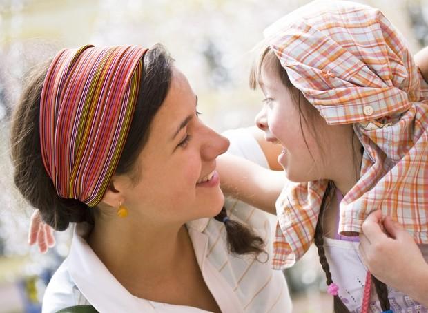 Mães de crianças com algum tipo de deficiência também precisam de atenção (Foto: Thinkstock)
