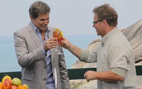 Champagne Cosmo: drinque com vodca e espumante