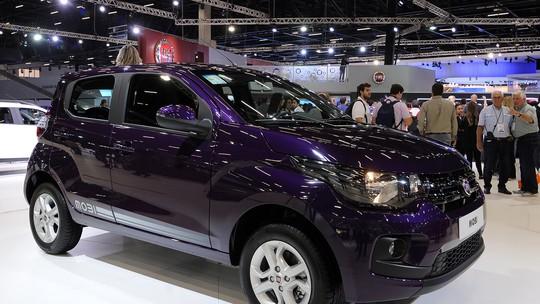 Fiat Mobi com motor 1.0 de 3 cilindros custará R$ 39.870