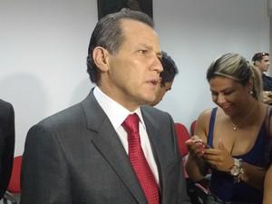 O ex-governador SIlval Barbosa foi interrogado nesta terça-feira na ação penal da operação Sodoma. (Foto: Renê Dióz / G1)