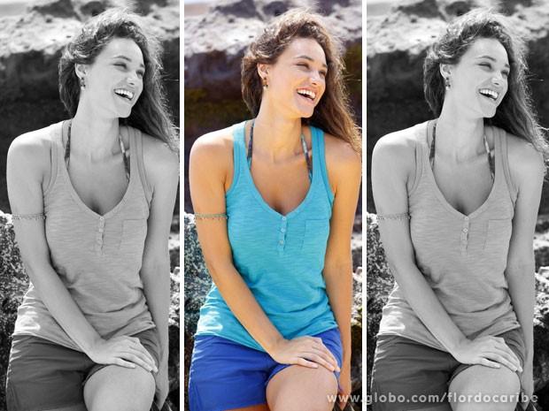 Débora Nascimento (Foto: Flor do Caribe / TV Globo)