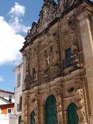 Igreja São Francisco - Salvador (Foto: Henrique Mendes/G1)