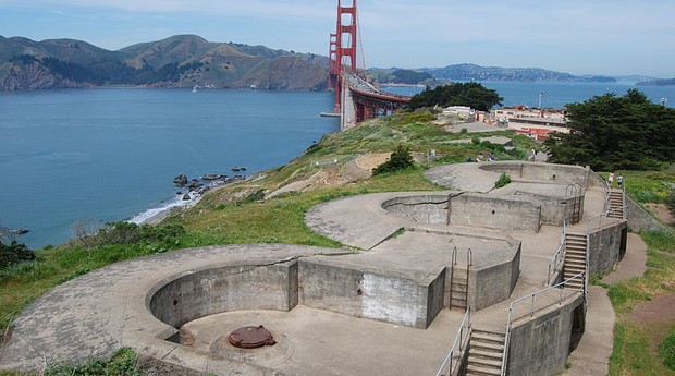 The Presidio, em San Francisco (Foto: Wikimedia Commons)