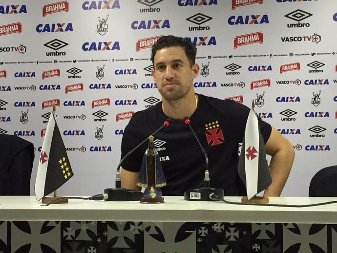 Martin Silva coletiva Vasco São Januário (Foto: Cahê Mota)