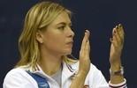 Sharapova anuncia ausência do WTA de Doha por lesão no antebraço (AFP)