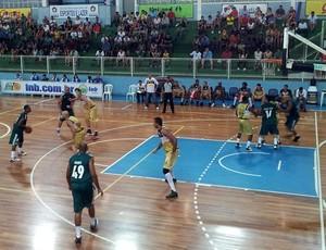 NBB 2012/13: Vila Velha x Palmeiras (Foto: Sidney Magno Novo/Globoesporte.com)