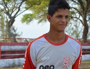 Lucão é o novo atacante do Sergipe (Foto: Felipe Martins/GLOBOESPORTE.COM)