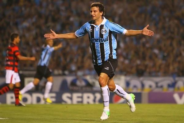 Elano foi o cara do jogo do tricolor da última quarta-feira (5) (Foto: Lucas Uebel/Grêmio FBPA)