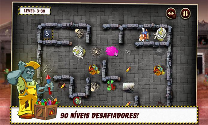 Vovô é um jogo divertido para Windows Phone (Foto: Divulgação/Windows Phone Store)