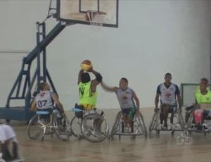 Equipe de RO vai disputar o Brasileiro de Basquete em Cadeira de Rodas (Foto: Reprodução/TV Rondônia)
