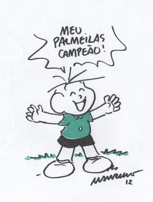 Cebolinha Palmeiras (Foto: Divulgação)