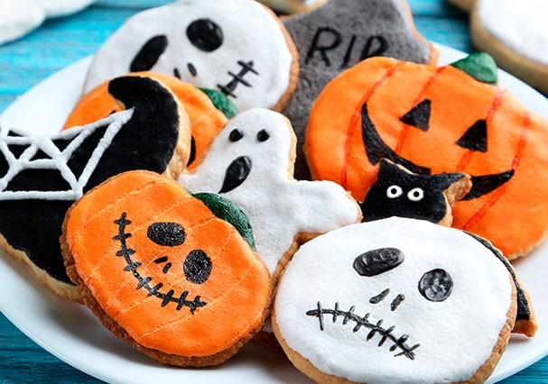 Biscoitos fofos decoram sua festa de Halloween e são deliciosos (Foto: Divulgação)