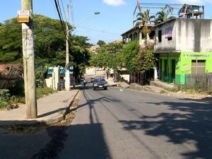 O vigilante foi baleado enquanto voltava para casa, em Cariacica.  (Foto: Reprodução/ TV Gazeta)