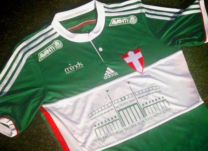 camisa Palmeiras pacaembu (Foto: Reprodução)