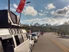 CUT protesta em Guararema contra reformas previdenciária e trabalhista