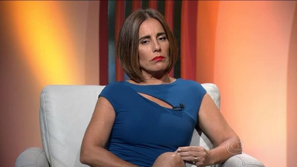 Glória Pires comentando o Oscar (Foto: reprodução)