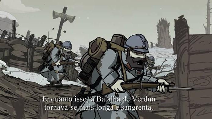 Jogo traz personagens dos dois lados da guerra. (Foto: Reprodução)
