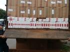Motorista é preso por contrabandear cerca de 500 caixas de cigarros em MS