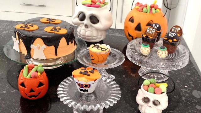Mesa De Halloween Mesa Dulce Para Halloween Use A Para Decorar A