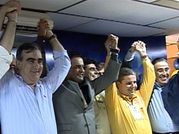 Nárcio Rodrigues Silveira já presidiu o PSDB estadual, por chapa apoiada por Aécio Neves e Antonio Anastasia, à época governador de MG vice (Foto: Reprodução/TV Globo)