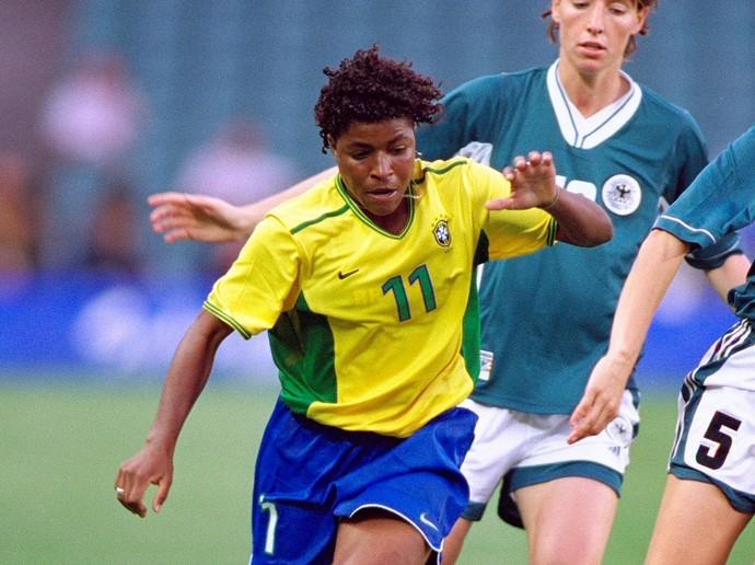 seleção feminina futebol 2000 (Foto: Getty Images)