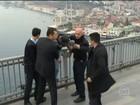Presidente da Turquia convence homem a desistir de se jogar de ponte