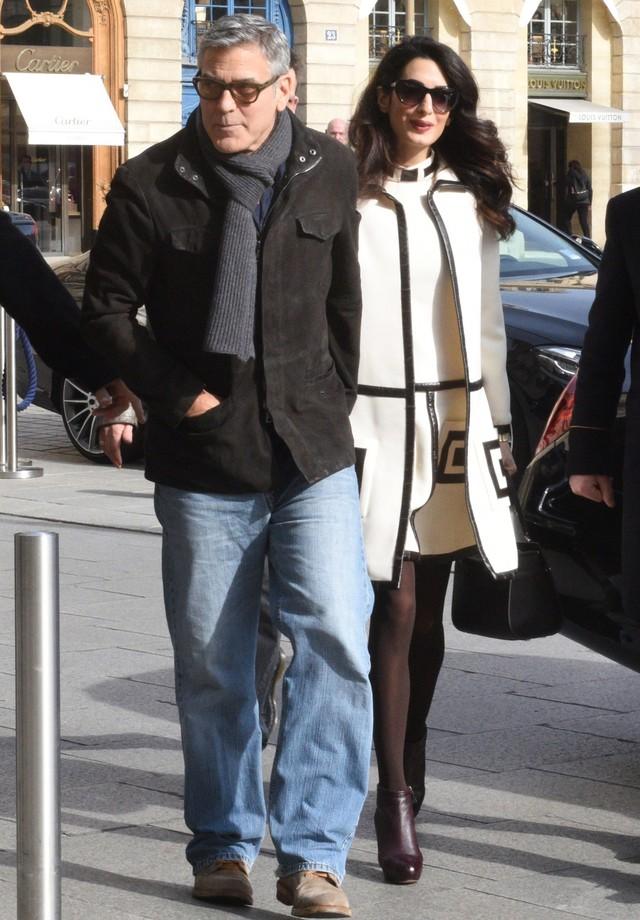 George e Amal Clooney (Foto: AKM)