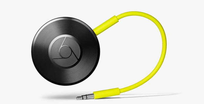 Chromecast Audio tem configuração simples e faz pareamento com celular via Wi-Fi (Foto: Divulgação/Google)