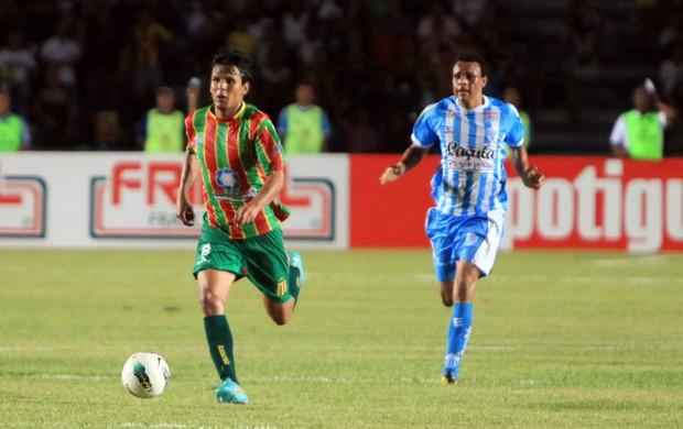 Eloir foi um dos artilheiros do Sampaio, com seis gols na Série D (Foto: Diego Chaves/O Estado)