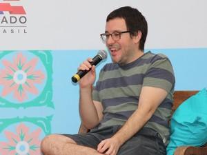 Antônio Prata participou de debate neste sábado (Foto: Egi Santana/ Flica)