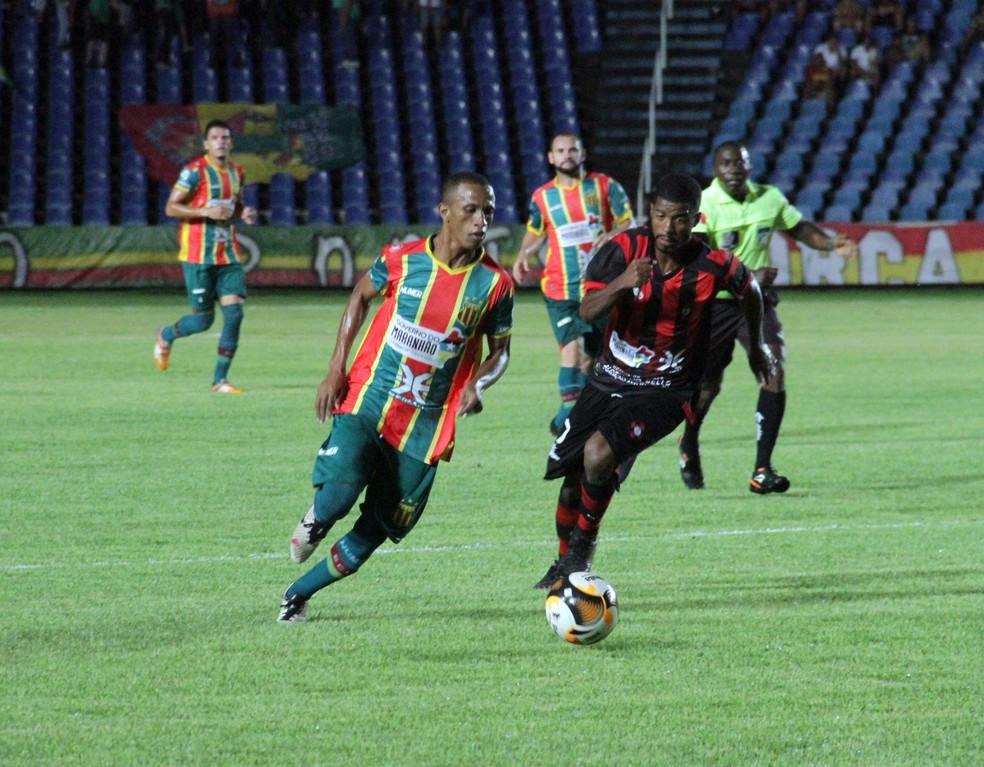 STJD confirma Sampaio na final do segundo turno do Campeonato Maranhense (Foto: De Jesus / O Estado)