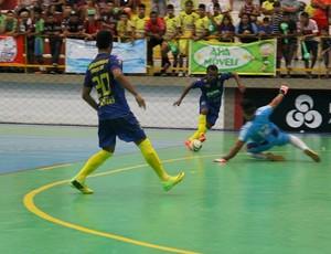 Anori venceu o Amigos do Paulinho Nascimento por 3 a 0, no jogo inaugural masculino (Foto: Adeilson Albuquerque)
