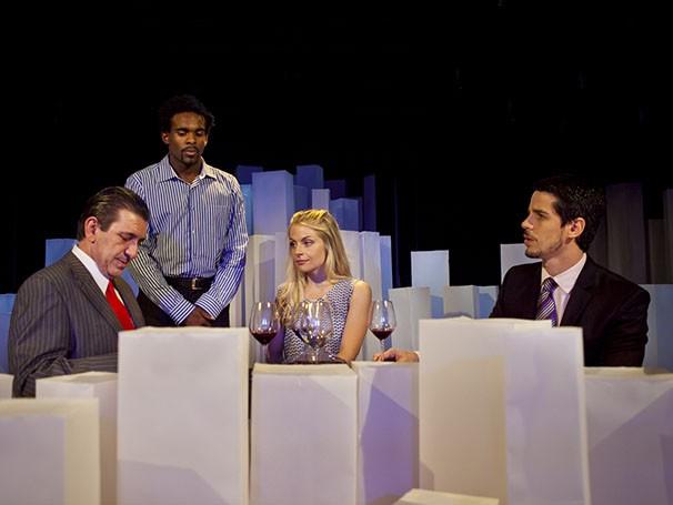 Elenco do espetáculo 'Como Nossos Pais' dirigido por Pedro Neschling (Foto: Julieta Bacchin)