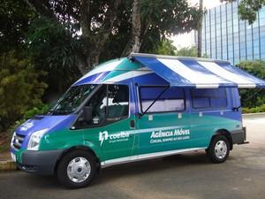 Agência móvel da Coelba  (Foto: Divulgação)