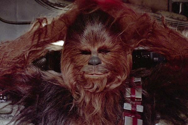 O wookie Chewbacca (Foto: Divulgação)