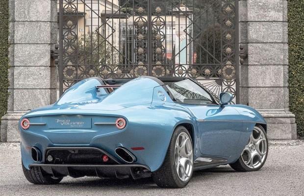 Alfa Romeo Disco Volante Spyder (Foto: Divulgação)
