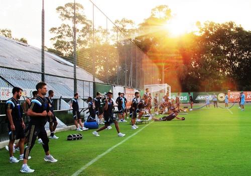 treino Palmeiras (Foto: Marcelo Hazan)