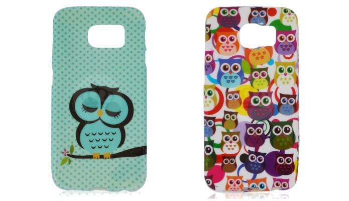 Capas de coruja para o Samsung Galaxy S6 (Foto: Divulgação/Coronitas Acessórios)
