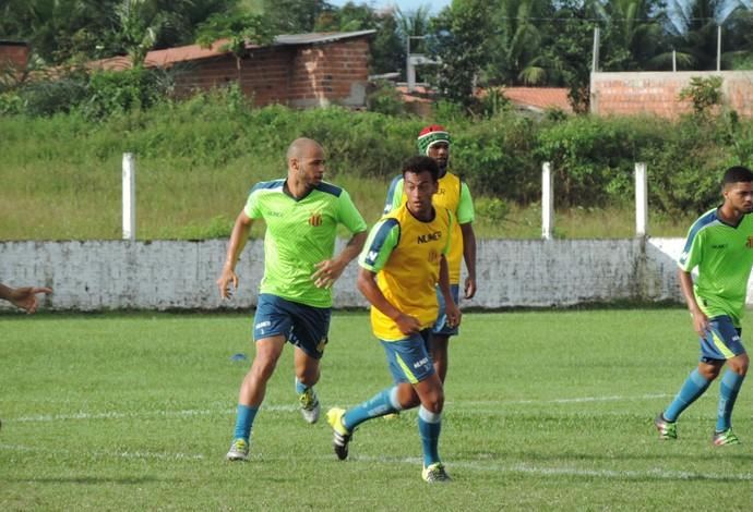 Time do Sampaio encerrou preparação para o jogo contra o Cordino na manhã desta sexta-feira (Foto: Sampaio / Dilvulgação)